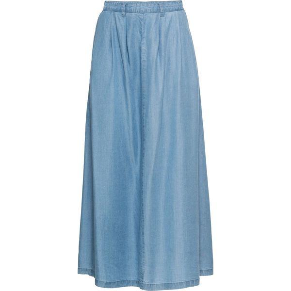b635e3b1 Spódnica TENCEL® bonprix niebieski bleached