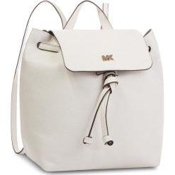 Plecak MICHAEL MICHAEL KORS - Junie 30T8TX5B2L  Optic White. Białe plecaki damskie MICHAEL Michael Kors, ze skóry, eleganckie. W wyprzedaży za 899.00 zł.