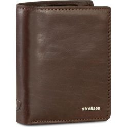 Duży Portfel Męski STRELLSON - Jefferson 4010001302 Dark Brown 702. Brązowe portfele męskie Strellson. W wyprzedaży za 149.00 zł.