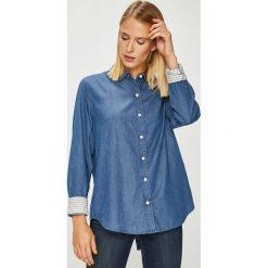Levi's - Koszula. Brązowe koszule damskie Levi's, z bawełny, casualowe, z klasycznym kołnierzykiem, z długim rękawem. Za 279.90 zł.
