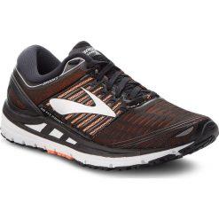 Buty BROOKS - Transcend 5 110276 1D 092 Black/Orange/Silver. Czarne buty sportowe męskie Brooks, z materiału. Za 649.00 zł.