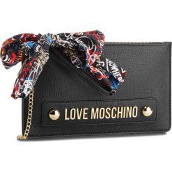 Torebka LOVE MOSCHINO - JC4124PP16LV0000  Nero. Czarne torebki do ręki damskie Love Moschino, ze skóry ekologicznej. Za 589.00 zł.