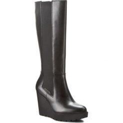 Kozaki CALVIN KLEIN JEANS - Sequin R3504 Black. Czarne kozaki damskie Calvin Klein Jeans, z jeansu. W wyprzedaży za 479.00 zł.