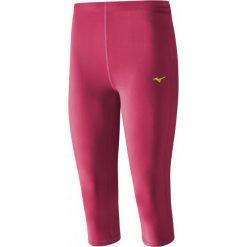 Mizuno Spodnie Core 3/4 Tights Raspberry Wine S. Czerwone spodnie sportowe damskie Mizuno. W wyprzedaży za 99.00 zł.