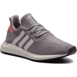 Buty adidas - Swift Run B37728 Grethr/Cblack/Greone. Szare obuwie sportowe damskie Adidas, z materiału. W wyprzedaży za 269.00 zł.