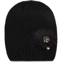 Czapka LIU JO - Cappello Maglia Pon N68253 M0300 Nero 22222. Czarne czapki i kapelusze damskie Liu Jo, z materiału. W wyprzedaży za 179.00 zł.