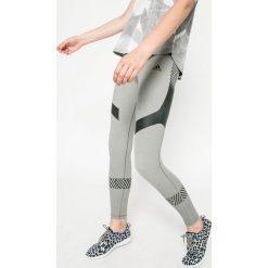 Adidas Performance - Legginsy Ultimate Tights Core Heather. Brązowe legginsy damskie adidas Performance, z dzianiny. W wyprzedaży za 159.90 zł.