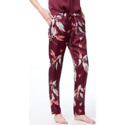 Etam - Spodnie piżamowe 650107775. Czerwone piżamy damskie Etam, z dzianiny. Za 119.90 zł.