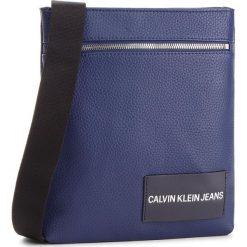 Saszetka CALVIN KLEIN JEANS - Pebble Essential Fla K40K400658 453. Niebieskie saszetki męskie Calvin Klein Jeans, z jeansu, młodzieżowe. Za 349.00 zł.