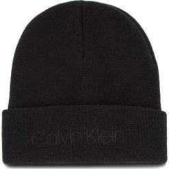 Czapka CALVIN KLEIN - Casual Beanie M K50K504121 001. Szare czapki i kapelusze męskie marki Giacomo Conti, na zimę, z tkaniny. Za 179.00 zł.