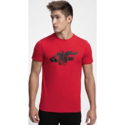 T-shirt męski TSM280 - czerwony. T-shirty męskie marki Giacomo Conti. W wyprzedaży za 39.99 zł.