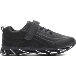 Czarne Buty Sportowe The New Real. Czarne buty sportowe chłopięce Born2be, z materiału. Za 59.99 zł.