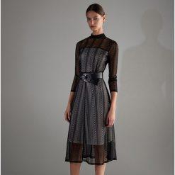 Sukienka midi - Czarny. Czarne sukienki damskie Reserved. Za 229.99 zł.
