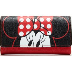 Portfel Minnie Mouse - Czarny. Czarne portfele damskie Cropp, z motywem z bajki. Za 44.99 zł.