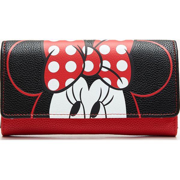 c5054a4e0fca4 Portfel Minnie Mouse - Czarny - Portfele damskie marki Cropp. Za ...
