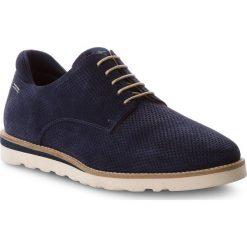 Półbuty PEPE JEANS - Barley Perforation PMS10218 Navy 595. Niebieskie półbuty na co dzień męskie Pepe Jeans, z jeansu. W wyprzedaży za 299.00 zł.