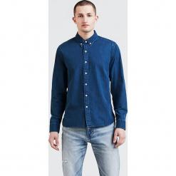 """Dżinsowa koszula """"Pacific"""" w kolorze niebieskim. Niebieskie koszule męskie Levi's, z bawełny, z klasycznym kołnierzykiem. W wyprzedaży za 152.95 zł."""