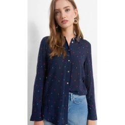 Koszula z drobnym wzorem. Brązowe koszule damskie Orsay, w kolorowe wzory, z tkaniny. Za 69.99 zł.