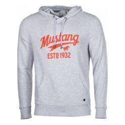 Mustang Bluza Męska Printed Hoodie L Szary. Szare bluzy męskie Mustang. Za 299.00 zł.