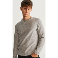 Sweter z bawełny organicznej - Jasny szar. Swetry przez głowę męskie marki Giacomo Conti. W wyprzedaży za 79.99 zł.