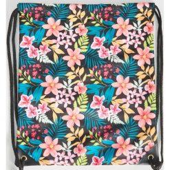 d66ede1bff61 Plecak worek w kwiaty - Wielobarwn. Plecaki damskie marki Sinsay. Za 29.99  zł.