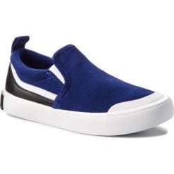 Tenisówki CALVIN KLEIN JEANS - Dacio S1756 Ocean/White/Black. Niebieskie trampki męskie Calvin Klein Jeans, z gumy. Za 519.00 zł.