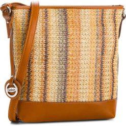 Torebka GABOR - 7825-99 Brązowy Kolorowy. Brązowe torebki do ręki damskie Gabor, w kolorowe wzory, ze skóry ekologicznej. W wyprzedaży za 159.00 zł.