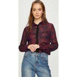 Diesel - Koszula. Szare koszule damskie Diesel, z długim rękawem. W wyprzedaży za 599.90 zł.