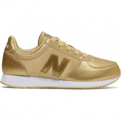 New Balance KL220GUY. Brązowe buty sportowe chłopięce New Balance, z materiału. Za 249.99 zł.
