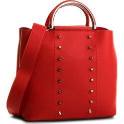 Torebka JENNY FAIRY - KL1006 Red. Czerwone torebki do ręki damskie Jenny Fairy, ze skóry ekologicznej. Za 99.99 zł.