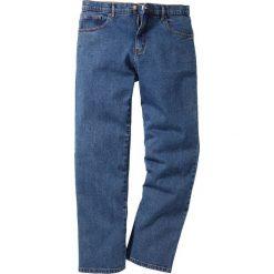 Dżinsy Classic Fit Straight bonprix niebieski. Niebieskie jeansy męskie bonprix. Za 89.99 zł.