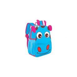 Plecak przedszkolny żyrafa niebieska 920526. Niebieskie torby i plecaki dziecięce Easy, z materiału. Za 49.84 zł.