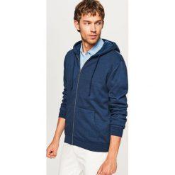 Bluza z kapturem - Granatowy. Niebieskie bluzy dla chłopców Reserved. Za 69.99 zł.