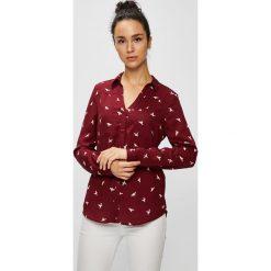Tally Weijl - Koszula. Szare koszule damskie TALLY WEIJL, z materiału, klasyczne, z klasycznym kołnierzykiem, z długim rękawem. W wyprzedaży za 69.90 zł.