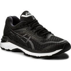 Buty ASICS - GT-2000 6 T855N  Black/White/Carbon 9001. Czarne obuwie sportowe damskie Asics, z materiału. W wyprzedaży za 459.00 zł.