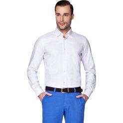 Koszula Fioletowa w Kratę Alvin. Fioletowe koszule męskie LANCERTO, w kratkę, z bawełny. W wyprzedaży za 149.90 zł.