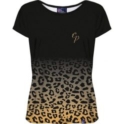 Colour Pleasure Koszulka damska CP-034 260 czarno-żółta r. M/L. T-shirty damskie Colour Pleasure. Za 70.35 zł.