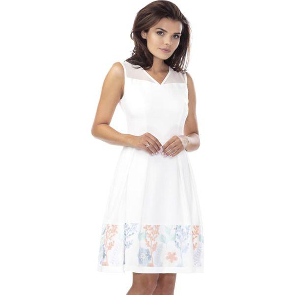 d3751df87 Sukienka w kolorze ecru - Białe sukienki damskie marki Ryłko by ...