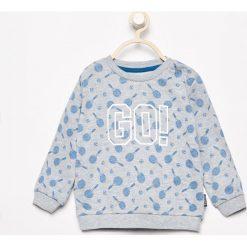 Wzorzysta bluza - Jasny szar. Bluzy dla chłopców marki Pollena Savona. W wyprzedaży za 14.99 zł.