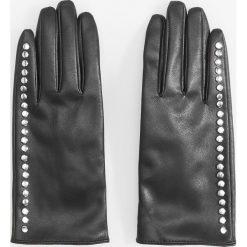 Rękawiczki z ćwiekami - Czarny. Rękawiczki damskie marki B'TWIN. W wyprzedaży za 39.99 zł.