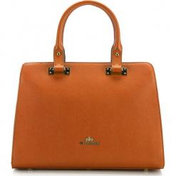 Torebka damska 85-4E-445-6. Brązowe torebki do ręki damskie Wittchen, w paski. Za 559.00 zł.