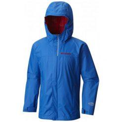 Columbia Kurtka Watertight Jacket Blue Xxs. Niebieskie kurtki i płaszcze dla chłopców Columbia, sportowe. W wyprzedaży za 159.00 zł.