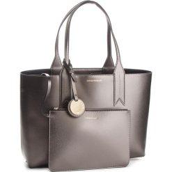 Torebka EMPORIO ARMANI - Y3D081 YH15A 86539 Steel/Black. Brązowe torebki do ręki damskie Emporio Armani, ze skóry ekologicznej. Za 689.00 zł.
