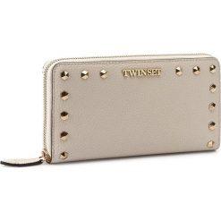 Duży Portfel Damski TWINSET - AS7T3E Almond 00815. Brązowe portfele damskie Twinset, ze skóry. W wyprzedaży za 409.00 zł.