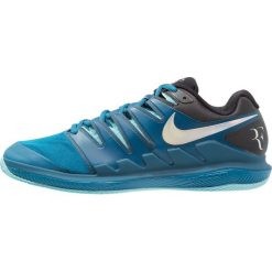 Nike Performance AIR ZOOM VAPOR X CLAY Obuwie do tenisa Outdoor green abyss/multicolor/bleach. Trekkingi męskie Nike Performance, z gumy, outdoorowe. Za 589.00 zł.