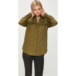 Roxy - Koszula. Brązowe koszule damskie Roxy, z długim rękawem. W wyprzedaży za 239.90 zł.