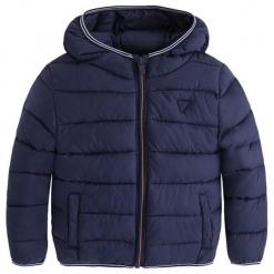 Kurtka w kolorze granatowym. Niebieskie kurtki i płaszcze dla chłopców marki Mayoral, na zimę. W wyprzedaży za 132.95 zł.