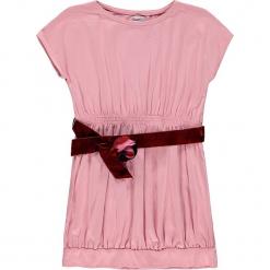 Sukienka w kolorze jasnoróżowym. Czerwone sukienki dla dziewczynek Königsmühle, z aplikacjami, z tkaniny. W wyprzedaży za 85.95 zł.