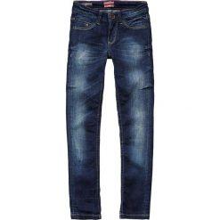 """Dżinsy """"Donna"""" - Skinny fit - w kolorze granatowym. Jeansy dla dziewczynek marki bonprix. W wyprzedaży za 82.95 zł."""