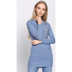 Niebieska Sukienka Unclouded. Sukienki damskie marki bonprix. Za 59.99 zł.